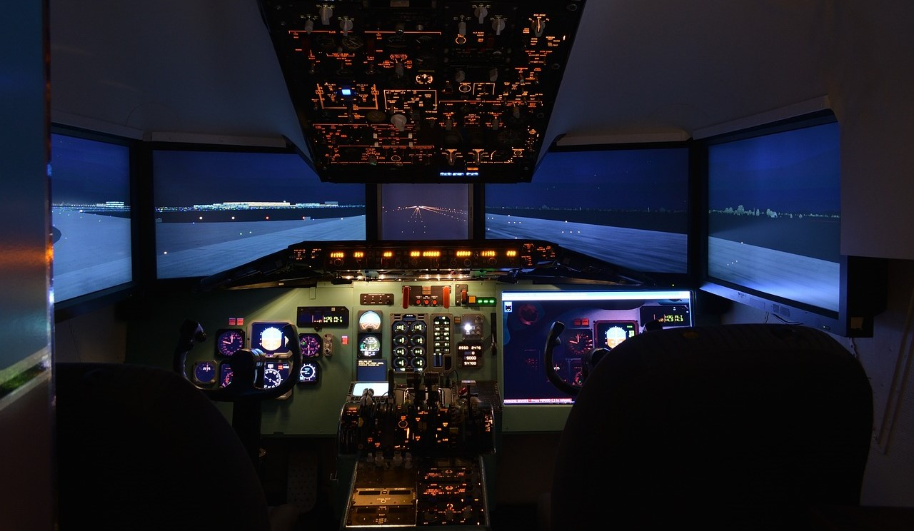 simulator: Aviation training technology